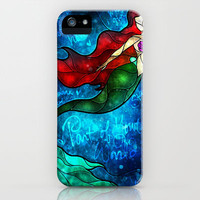 The Mermaids Song iPhone Case by Mandie Manzano   Society6