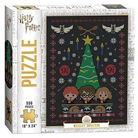 """Harry Potter """"Weasley Sweaters"""" 550 Piece Puzzle"""