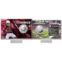 Larry Fitzgerald Silver Coin Card