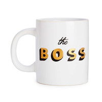hot stuff ceramic mug - the boss