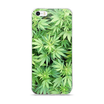Weed Leaf 420 iPhone 5/5s/Se, 6/6s, 6/6s Plus Case