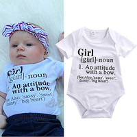 Cute Baby Girl Onesuit