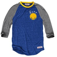 Hustle Play HenleyGolden State Warriors - Mitchell & Ness