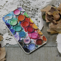 Iphone 4 case, Cell phone cover, Iphone cases, cell phone accessory, Iphone 4,  Artists Paint Box