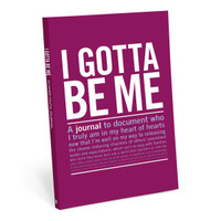 Knock Knock I Gotta Be Me Guided Journal - Official Shop