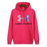 Under Armour Women Man Fashion Print Sport Casual Top Sweater Pullover Hoodie-10