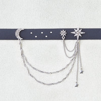 AEO Charms & Chains Choker, Black