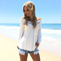 Cheche Top In Ivory By SKY
