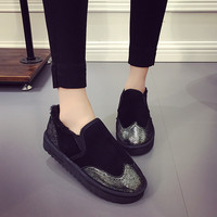 Hot Sale Comfort On Sale Casual Stylish Hot Deal Shoes Winter Flats Cotton Sneakers [8865348428]