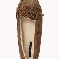 Classic Suede Moccasin Slippers