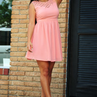 A World With You Dress: Peach