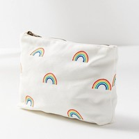 Embroidered Pattern Pouch | Urban Outfitters