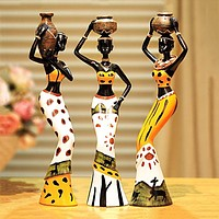 African Ladies Figurines