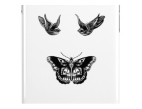Harry Styles' Bird and Butterfly Tattoos