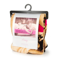 Audrey Hepburn I Want to Be Left Alone Throw Blanket