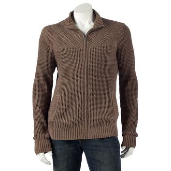 Marc Anthony Cable-Knit Cardigan Sweater