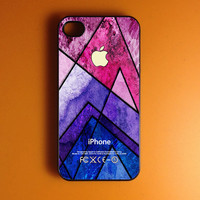 Geometric Iphone 4 Case - Colorful Pattern Iphone Case, Iphone 4s Case