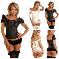 fashion Women sexy lingerie Underwear corsets Shapewear Overbust Bustier Body Shaper = 1704138436