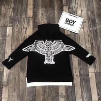 Boy London Woman Men Fashion Long Sleeve Top Pullover Sweater Hoodie