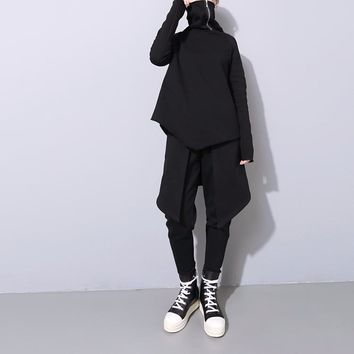 Gordon Zip Neck Turtleneck