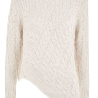 Asymmetric Cable Jumper - New In Fashion - New In