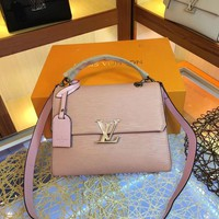 DCCK 2019 New LV Louis Vuitton Women Leather Monogram Fashion Handbag Neverfull Bags Tote Shoulder Bag Wallet Purse Bumbag Quality