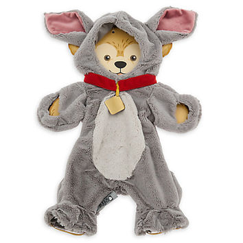 Disney Duffy The Disney Bear Tramp Costume 17'' Lady And The Tramp New With Tag