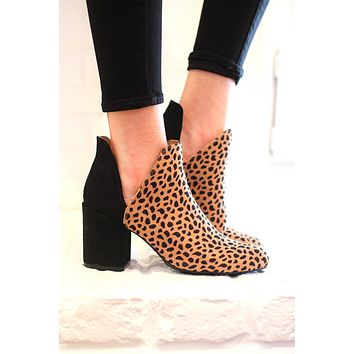 Party Animal Leopard Booties