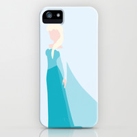 Queen Elsa iPhone & iPod Case by Adrian Mentus
