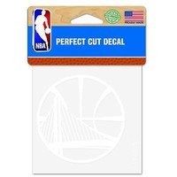 "Licensed Golden State Warriors Official NBA 4"" x Automotive Car Decal 4x4 by Wincraft KO_19_1"