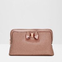 Scallop edge large wash bag - Rose Gold   Gifts for Her   Ted Baker