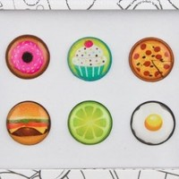 Bubble Buttons Home Button Sticker Yummy Pack
