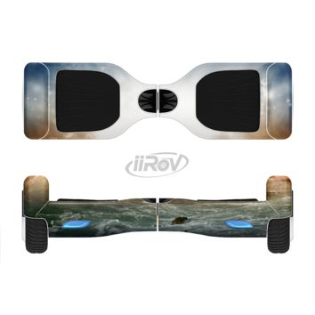 The Majestic Sky on Crashing Waves Full Body Skin Set for the Smart Drifting SuperCharged Transportation iiRov