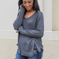 Highland Thermal Top - Charcoal