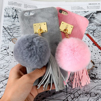 Soft Furry Case for iPhone