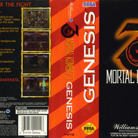Mortal Kombat 3 - Sega Genesis (Ugly Game Only)