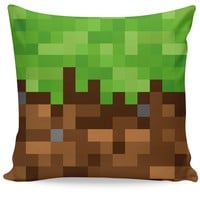 Dirt Block Couch Pillow