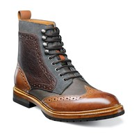 Madison Wing Tip Lace Boot  by Stacy Adams