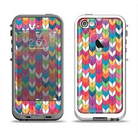 The Color Knitted Apple iPhone 5-5s LifeProof Fre Case Skin Set
