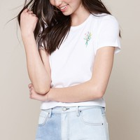 Me To We Chest Embroidery T-Shirt at PacSun.com