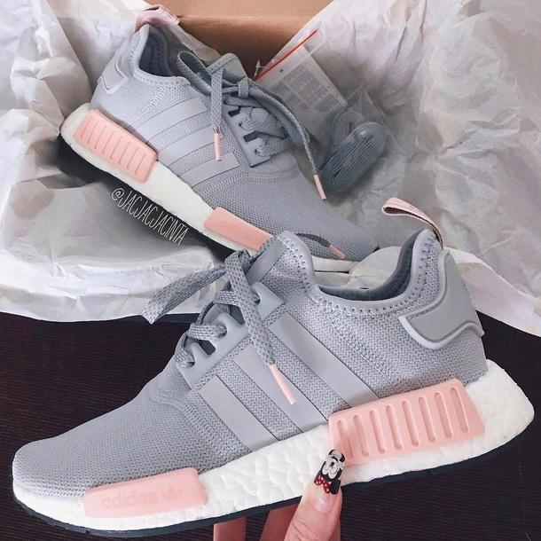 Image of Adidas NMD R1 Men's and Women's Sneakers Shoes