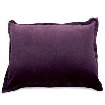 Villa Aubergine Floor Pillow