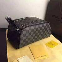 Tagre™ LOUIS VUITTON TOILETRY COSMETIC BAG BAGS PURSE WALLET