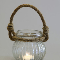 Rope Candle Holder - Urban Outfitters