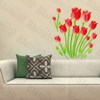 Gentle Tulips - Wall Decals Stickers Appliques Home Decor