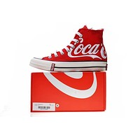 KITH x Coca-Cola x Converse Chuck Taylor All Star 1970s Whtie&Red Sneaker 1620287C