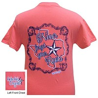 Girlie Girl Originals Texas Never Forget Your Roots Bright T Shirt
