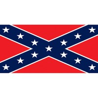 Rebel Flag Velour Beach Towel