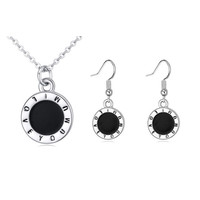 Shiny Jewelry Gift Stylish New Arrival Simple Design Set Necklace [4918842820]