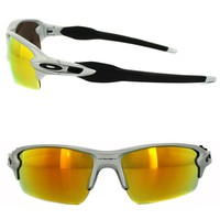 Oakley Sunglasses Flak 2.0 OO9295-02 Silver Fire Iridium